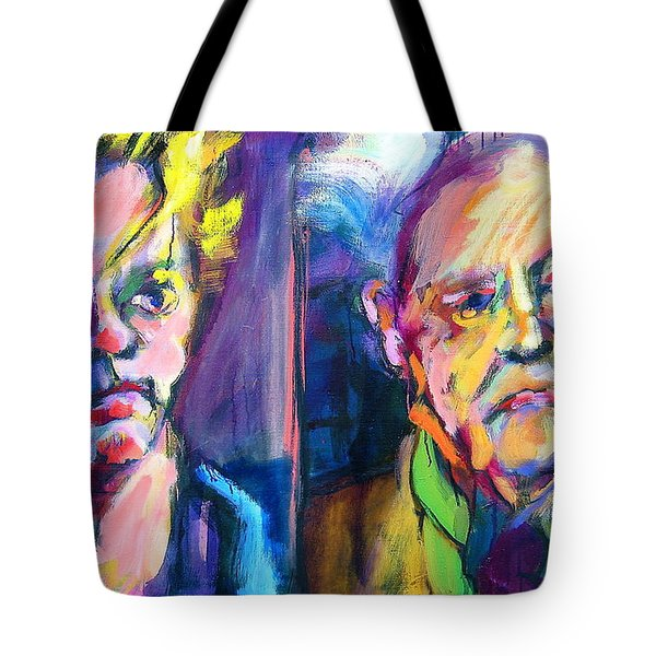 Two Rooneys Tote Bag