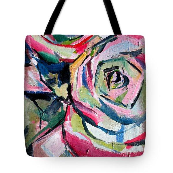 Two Roses Tote Bag