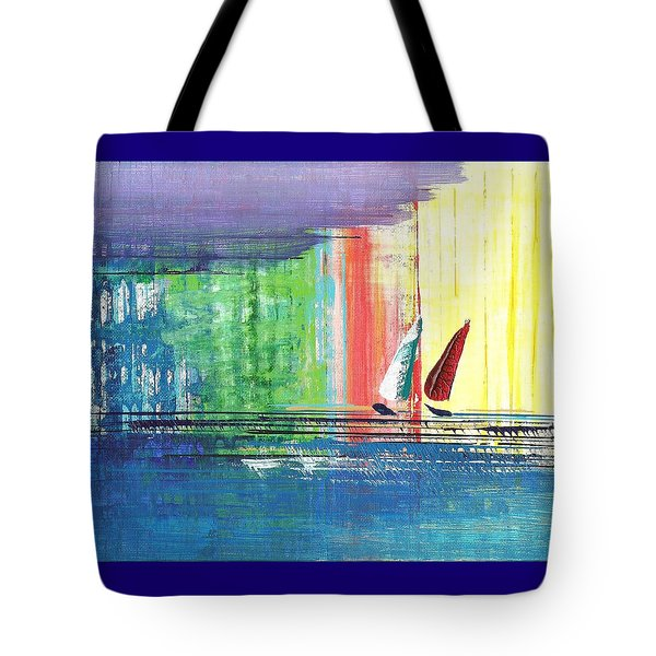 Two Sails Tote Bag