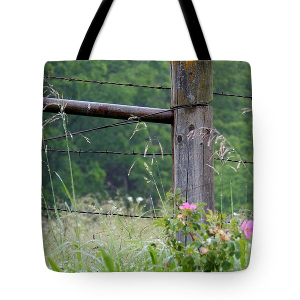 Two Sets Of Thorns Tote Bag