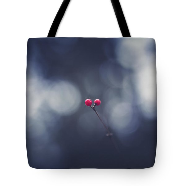 Tote Bag featuring the photograph two by Shane Holsclaw