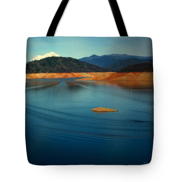 Two Shastas Tote Bag by Joyce Dickens