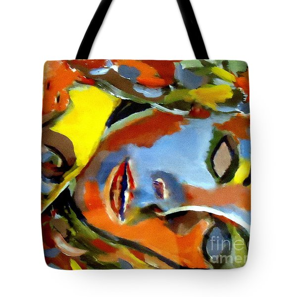 Tote Bag featuring the painting Two Souls by Helena Wierzbicki