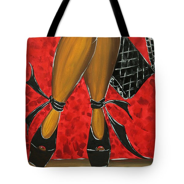 Two Stepping Tote Bag