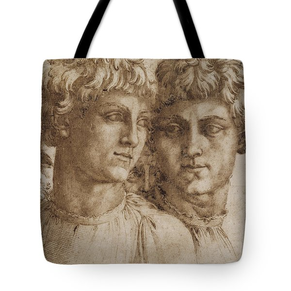 Two Studies Of The Head Of A Youth Tote Bag