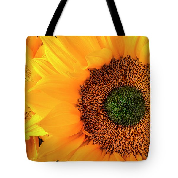 Two Stunning Sunflowers Tote Bag