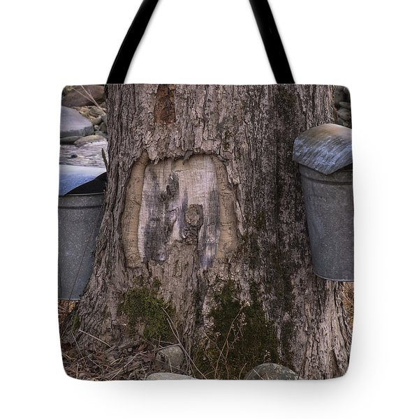 Two Syrup Buckets Tote Bag