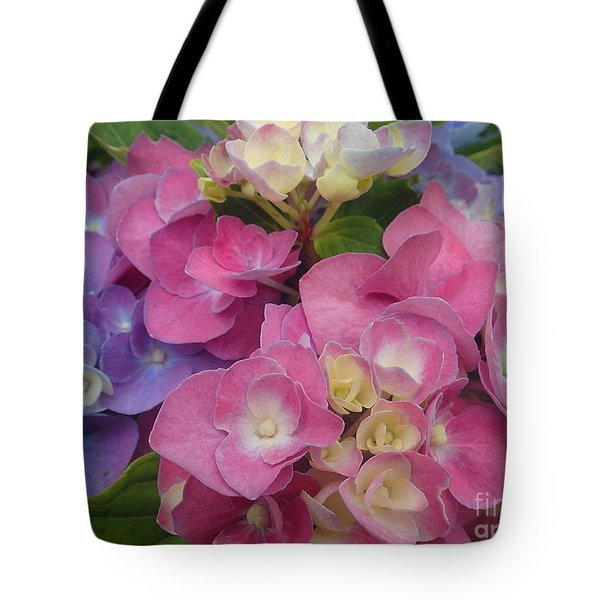 Two-tone Buds Tote Bag
