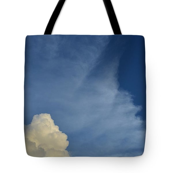 Two Tone Clouds 9384 Tote Bag
