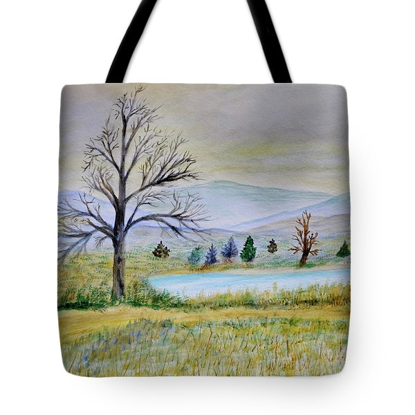 Two Tracking Tote Bag