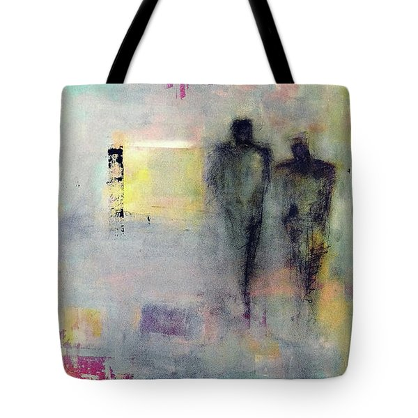 Two Walk Alone Tote Bag