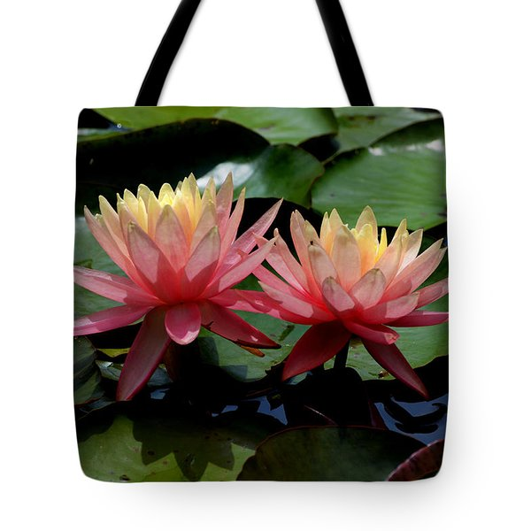 Two  Waterlilies  Tote Bag