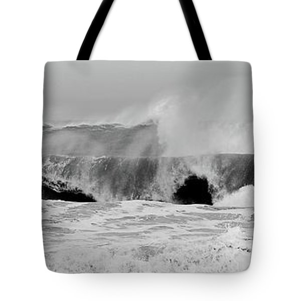 Two Waves Are Better Than One - Jersey Shore Tote Bag