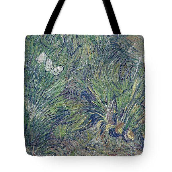 Two White Butterflies, 1889 Tote Bag