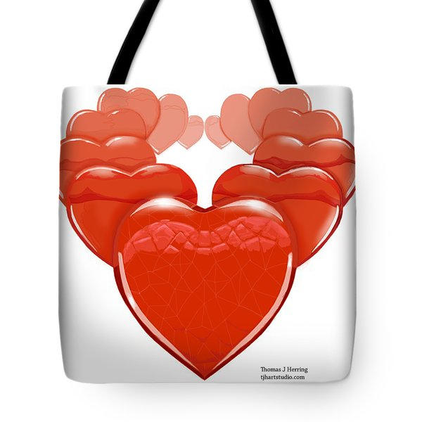 Two Will Become One Tote Bag by Thomas J Herring