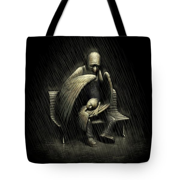 Two Wings And A Prayer Tote Bag