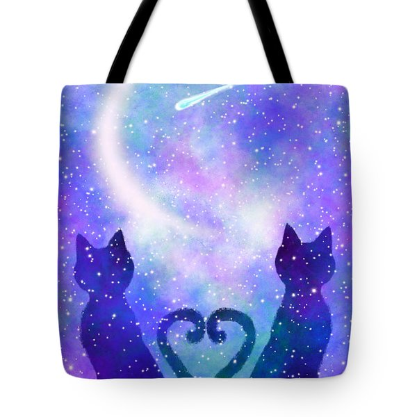 Two Wishing On A Star Tote Bag