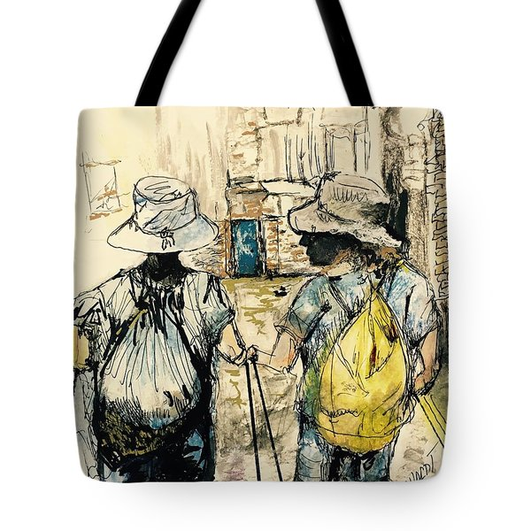 Texans On The Camino De Santiago Tote Bag