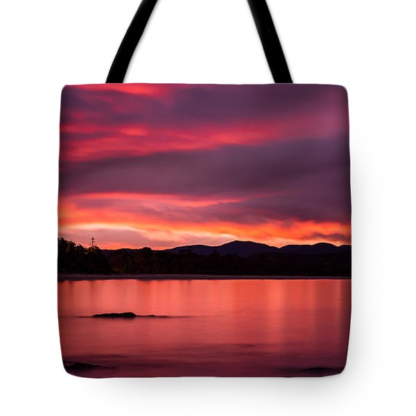 Twofold Bay Sunset Tote Bag