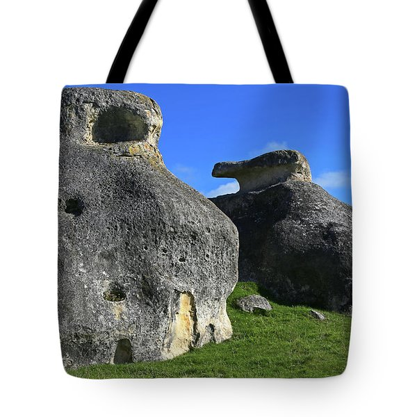 Two's Company Tote Bag by Nareeta Martin