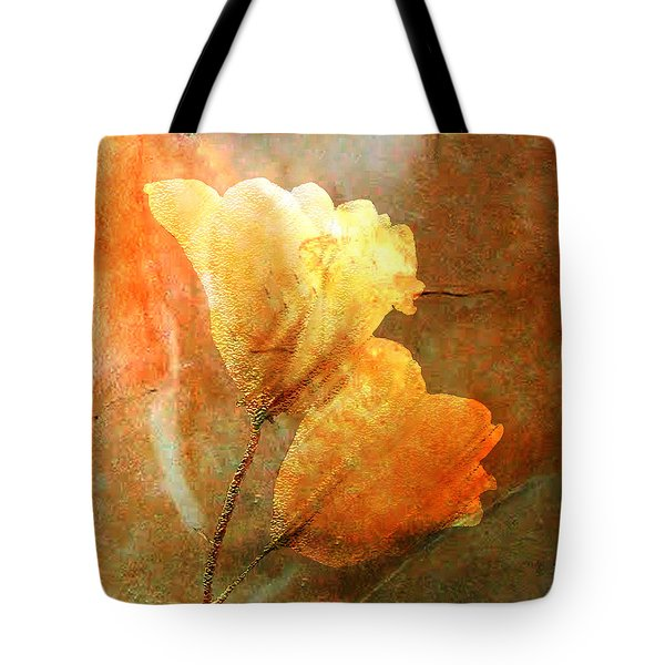 Tote Bag featuring the digital art Twosome by Asok Mukhopadhyay