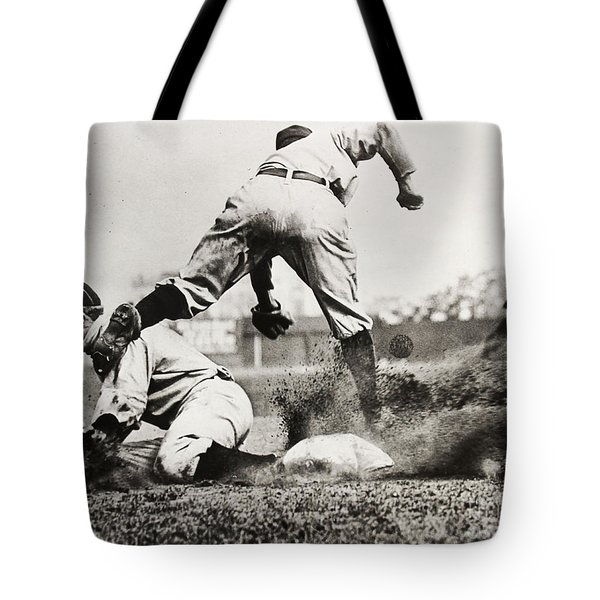 Ty Cobb Gets A Triple Tote Bag