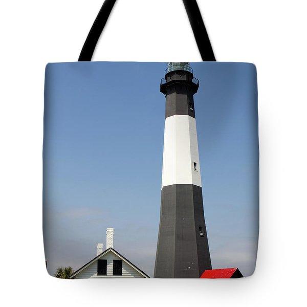 Tybee Lighthouse Georgia Tote Bag
