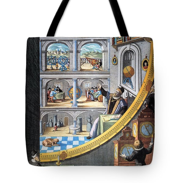 Tycho Brahe (1546-1601) Tote Bag by Granger