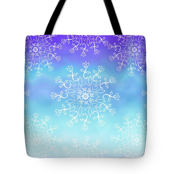 Tye Dye And Lace Tote Bag