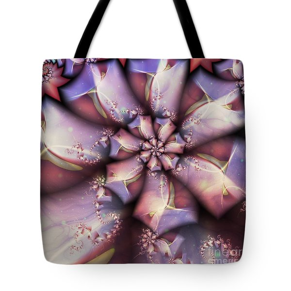 Tye Dyed To Infinity Tote Bag by Michelle H