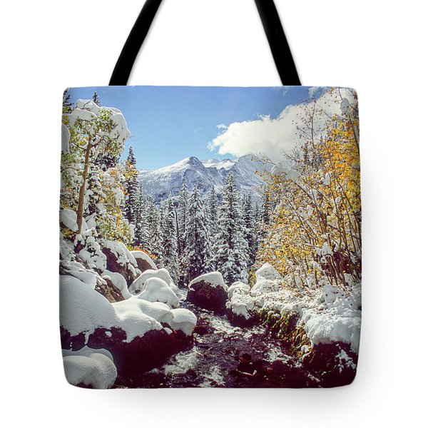 Tyndall Creek Tote Bag by Eric Glaser