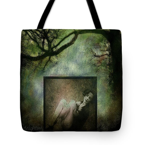 Tote Bag featuring the digital art Tyranny Of Pretty by Delight Worthyn