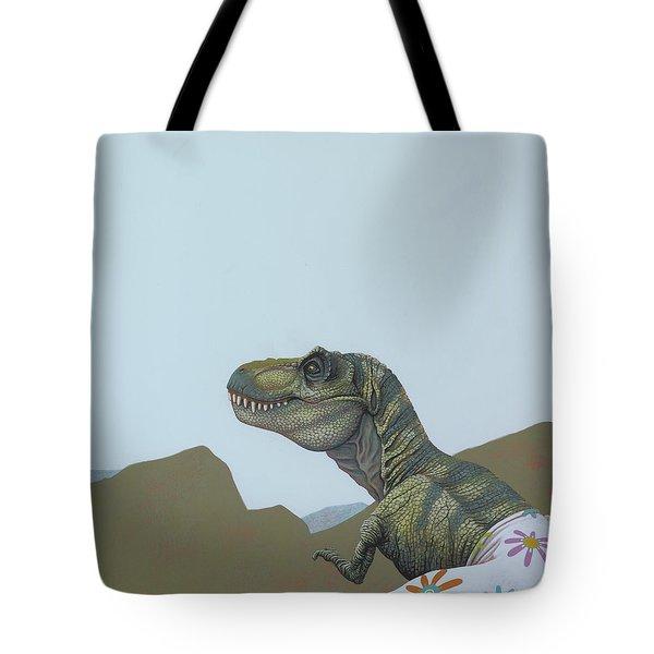 Tyranosaurus Rex Tote Bag