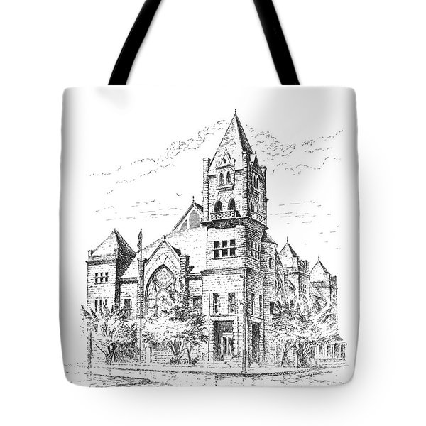 Tyrrell Historical Library Tote Bag