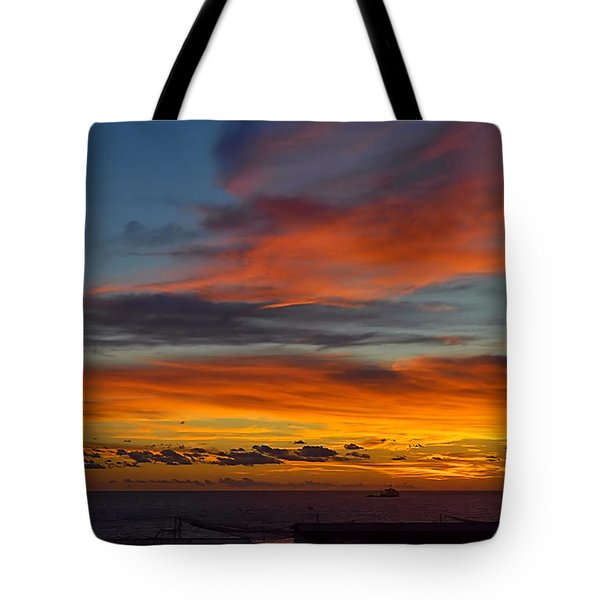 Tote Bag featuring the photograph Tyrrhenian Sea by Steven Richman
