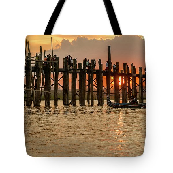 U-bein Bridge Tote Bag
