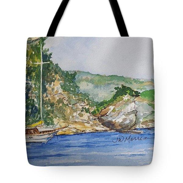 U Capu Biancu Tote Bag