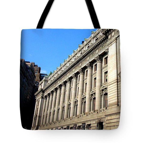 U S Custom House 1 Tote Bag by Randall Weidner