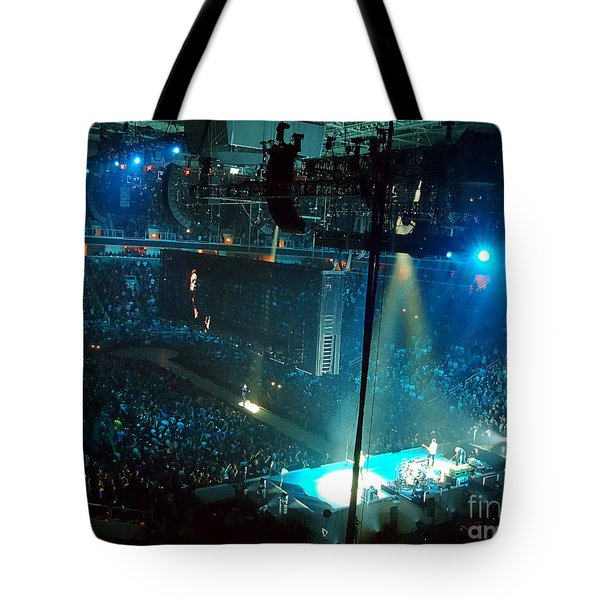U2 Innocence And Experience Tour 2015 Opening At San Jose. 1 Tote Bag