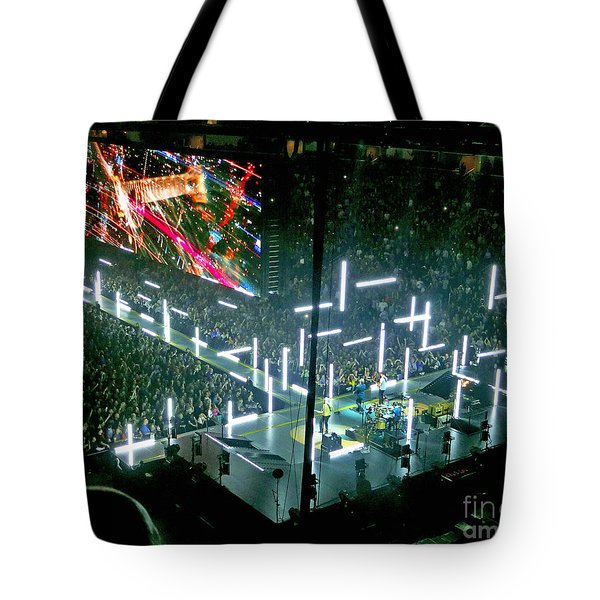 U2 Innocence And Experience Tour 2015 Opening At San Jose. 8 Tote Bag