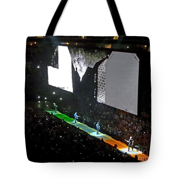 U2 Innocence And Experience Tour 2015 Opening At San Jose. 4 Tote Bag