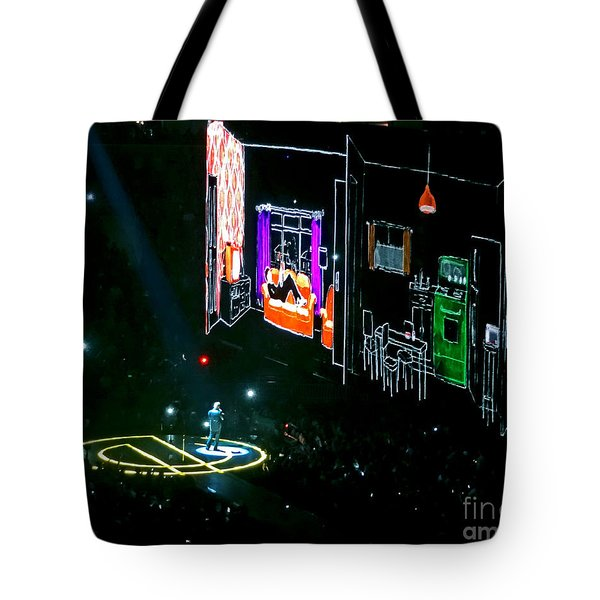 U2 Innocence And Experience Tour 2015 Opening At San Jose. 5 Tote Bag