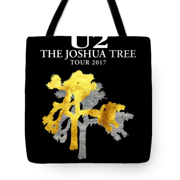 U2 Joshua Tree Tote Bag