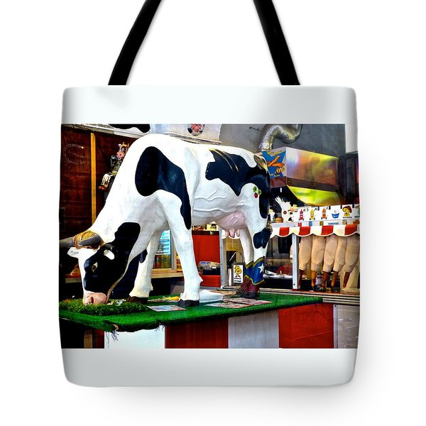 Udderly Unexpected Tote Bag by Amelia Racca