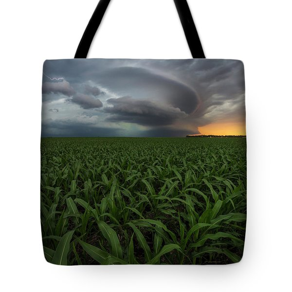 Tote Bag featuring the photograph UFO by Aaron J Groen