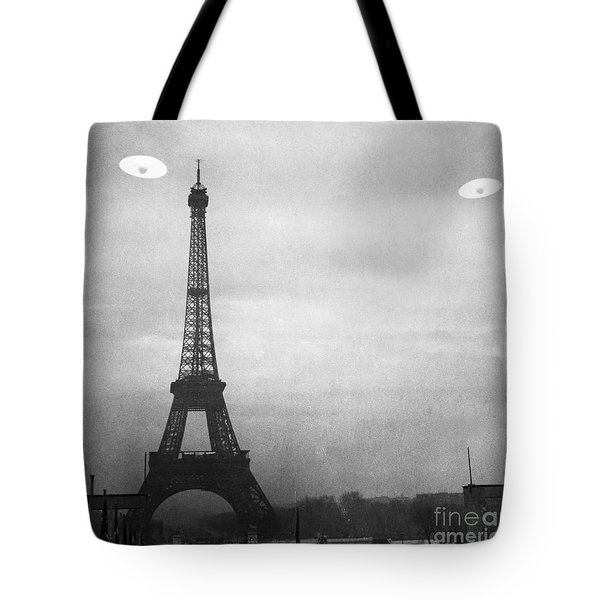 Ufo: Paris Tote Bag by Granger