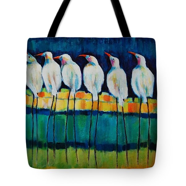 Ufo Sighting Tote Bag by Jean Cormier