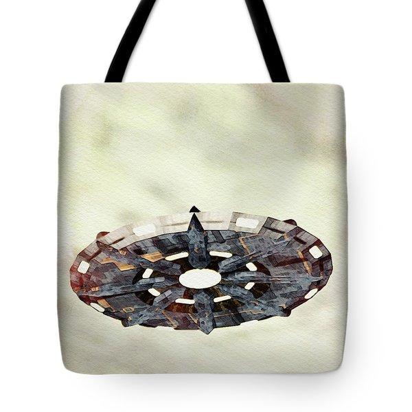 Ufo Sky Tote Bag