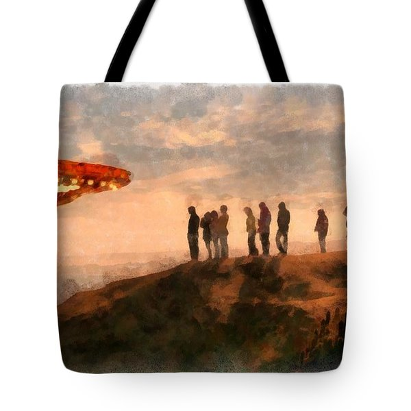 Ufo Spotters Tote Bag