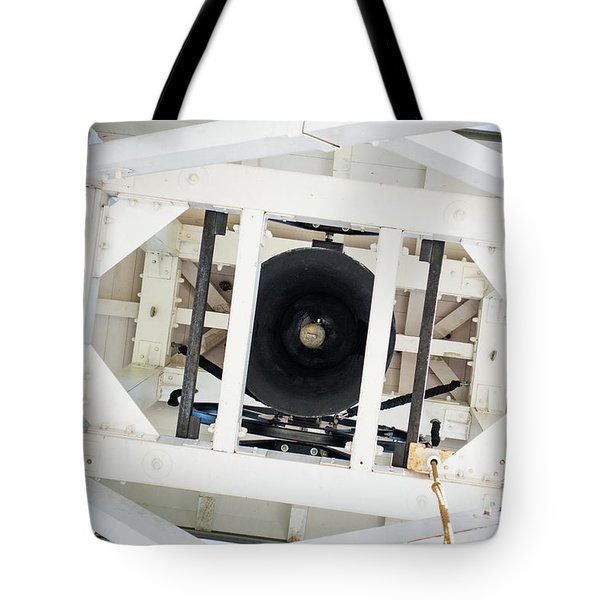 Tote Bag featuring the photograph Uga Chapel Bell by Parker Cunningham